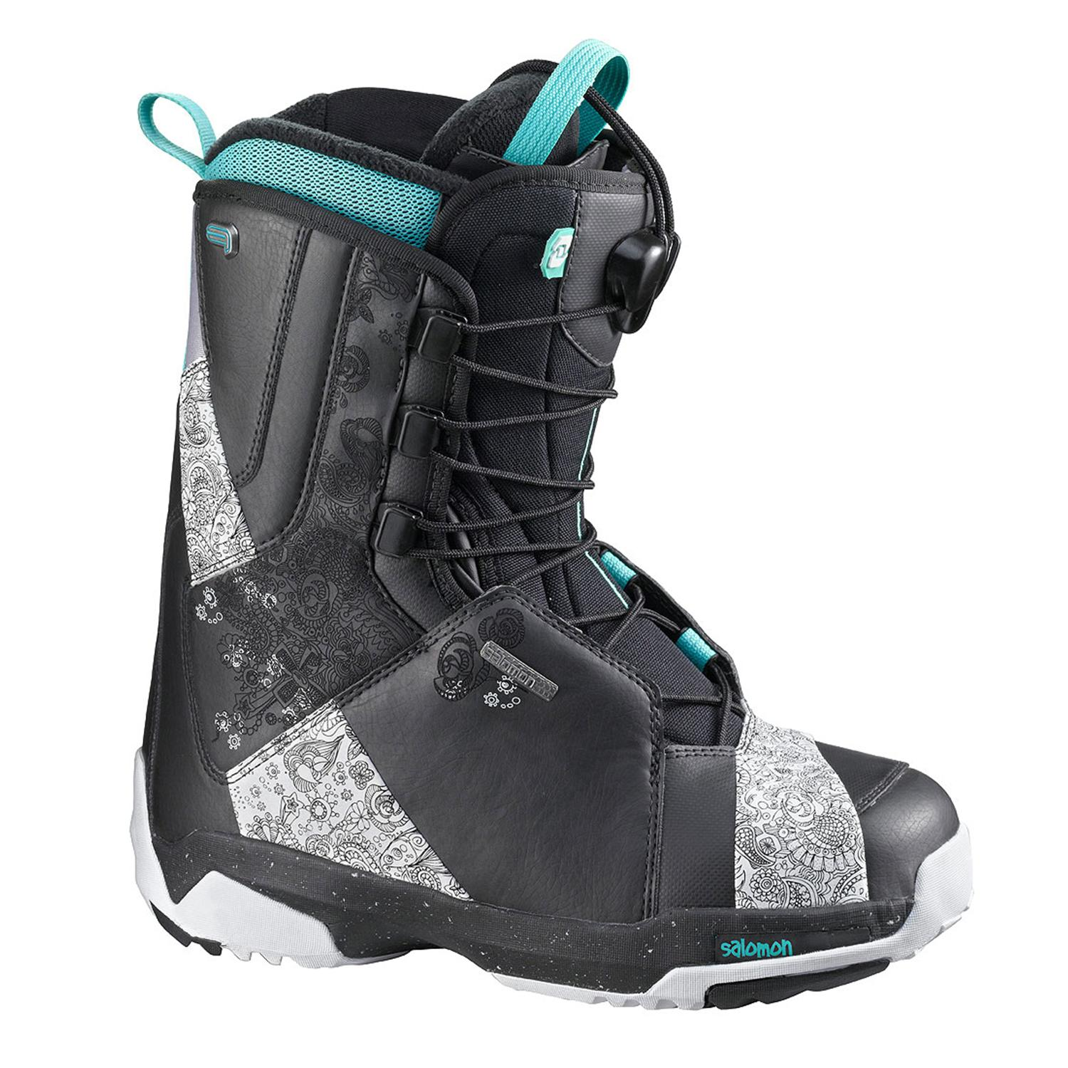 salomon f20w snowboard boots s 2010 evo outlet