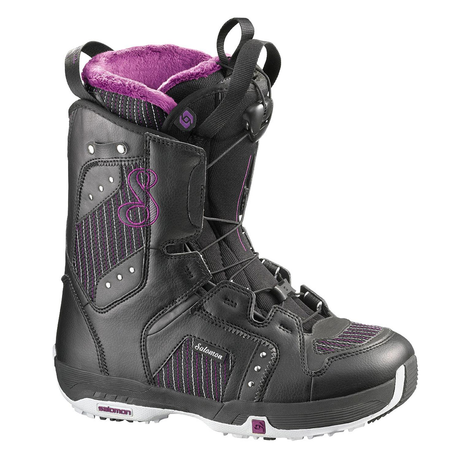 salomon pearl snowboard boots s 2010 evo outlet