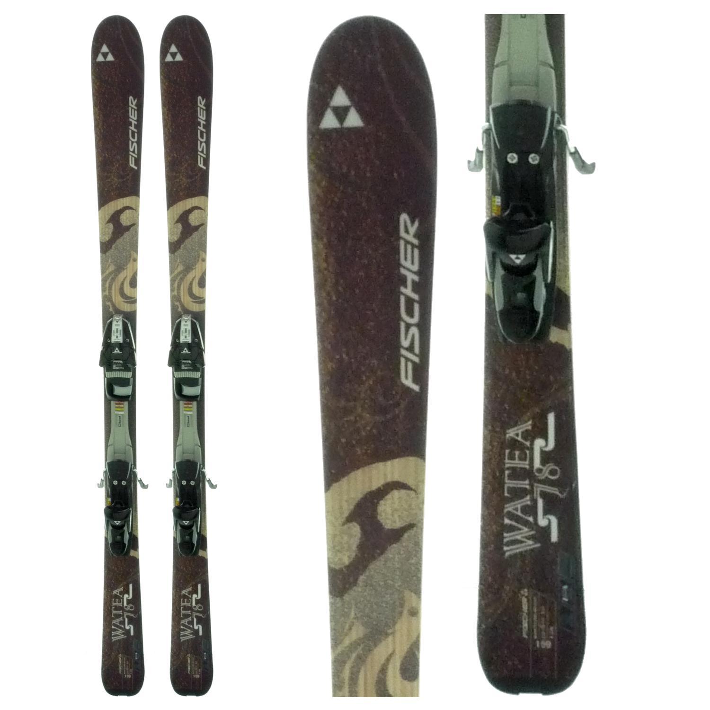 Fischer Watea 78 Skis + Bindings - Used 2009