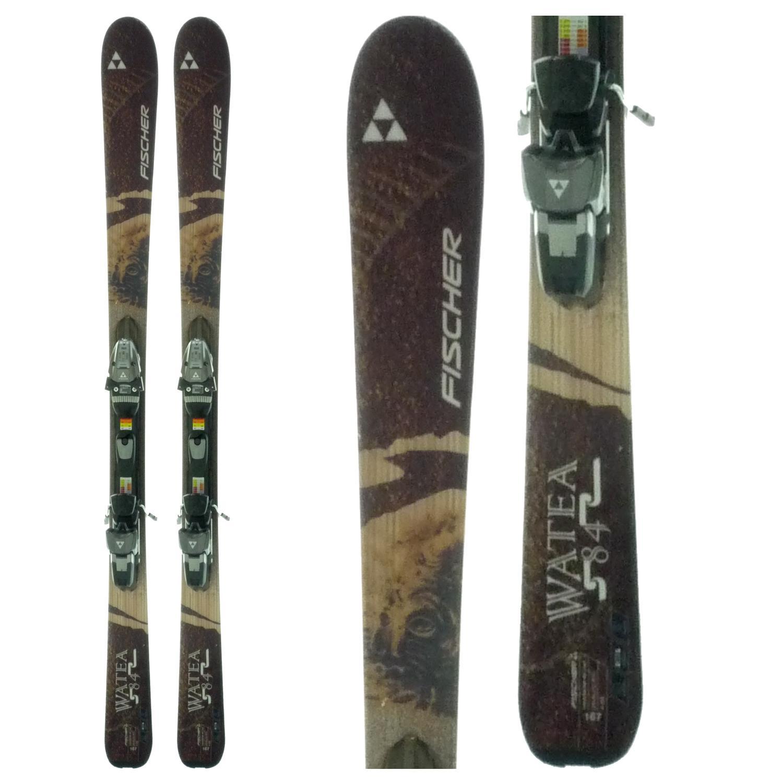 Fischer Watea 84 Skis + Bindings - Used 2009