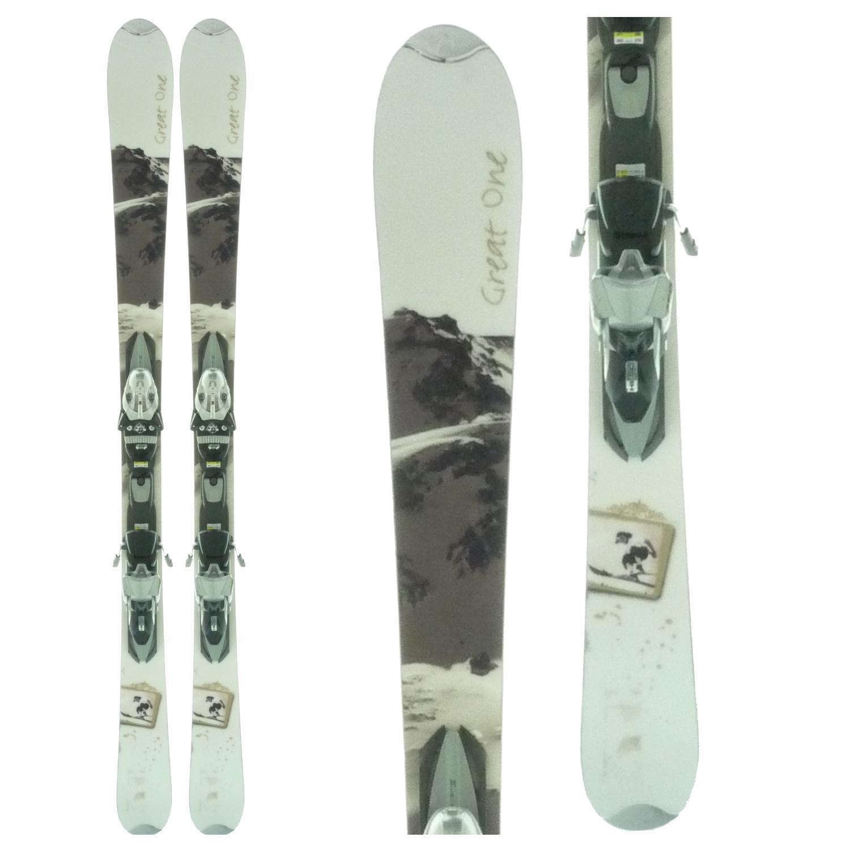Head Great One Skis + Bindings