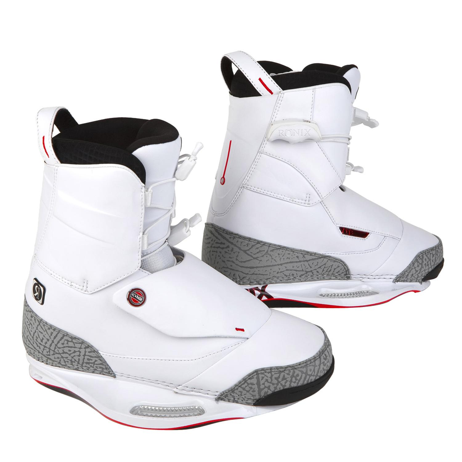 Ronix One Wakeboard Boots (White) 2010