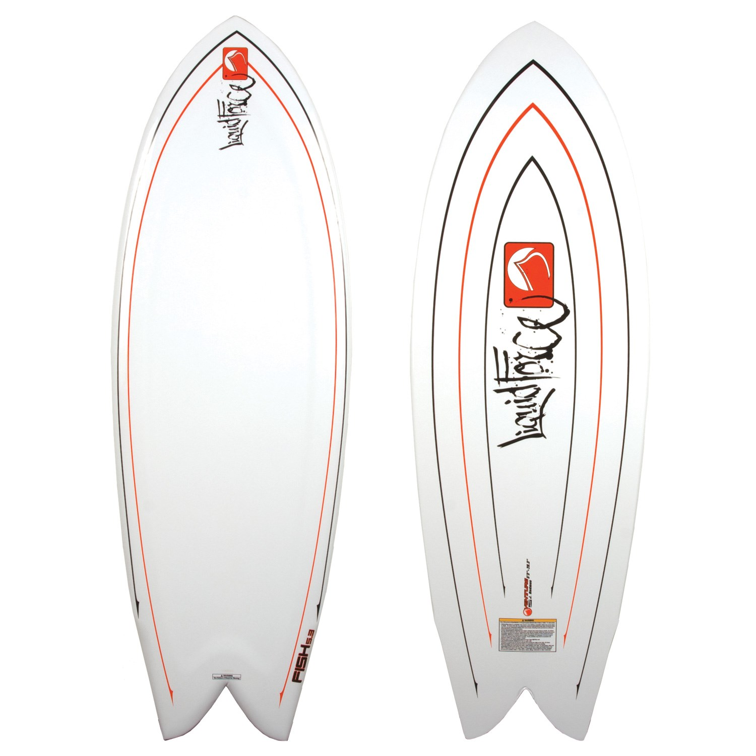 Liquid force venture fish wakesurf board 2010 evo outlet for Liquid force fish