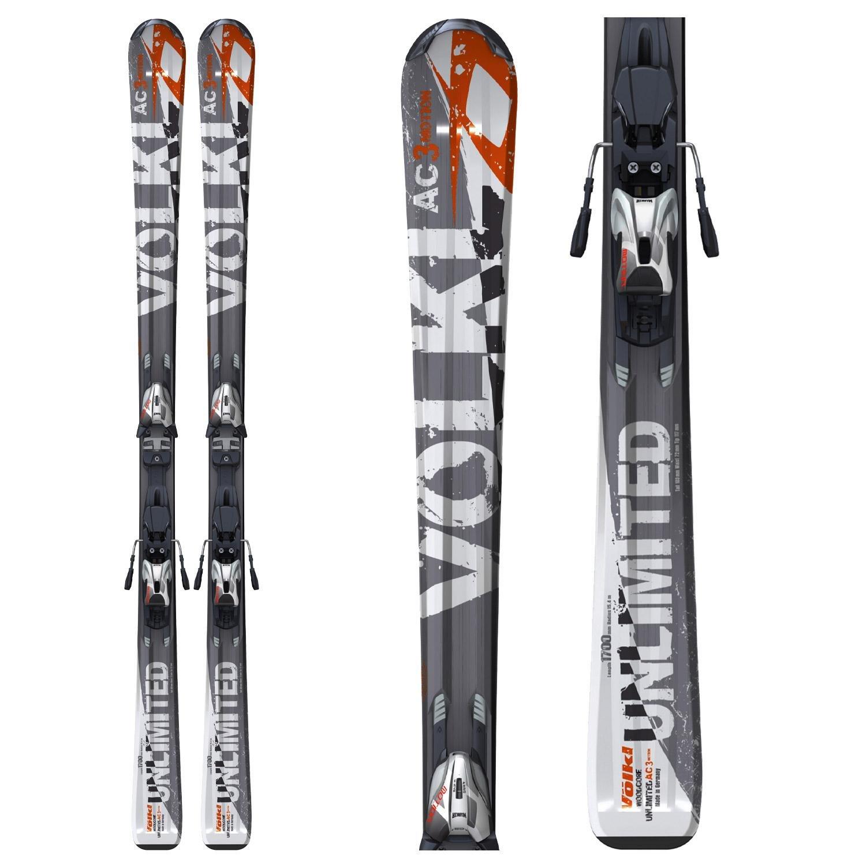 Volkl AC 3Motion Skis + Marker 3Motion 10.0 Bindings 2010