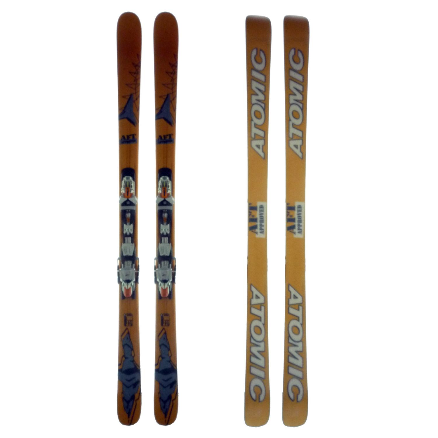 Atomic Stomp Skis + Bindings - Used 2003