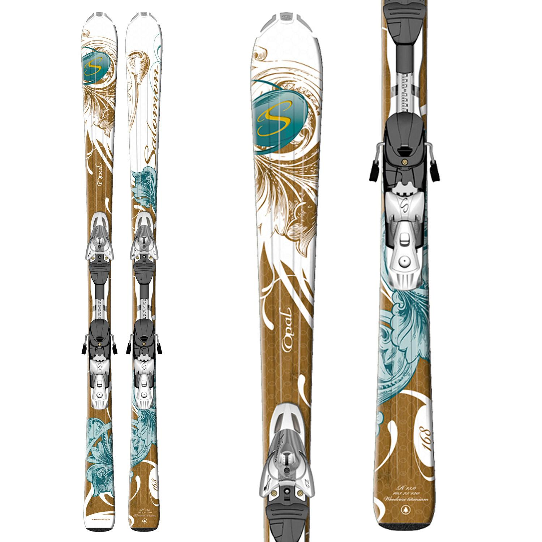 Salomon Origins Opal Skis + Z10 Ti Bindings