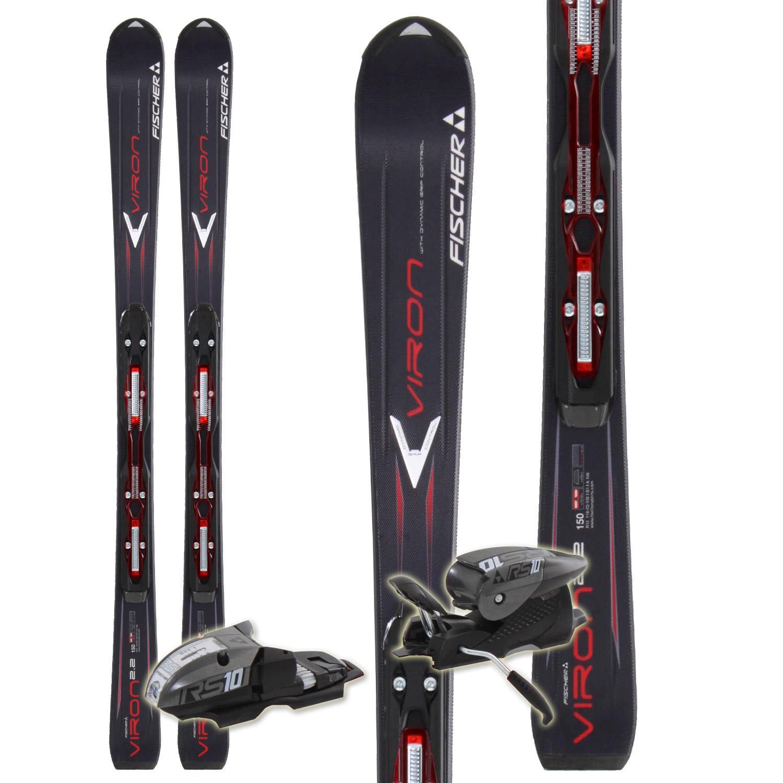 Fischer Viron 2.2 Powerrail Skis + RS 10 Powerrail