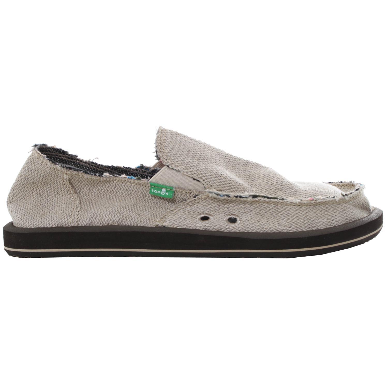 sanuk hemp slip on shoe evo outlet