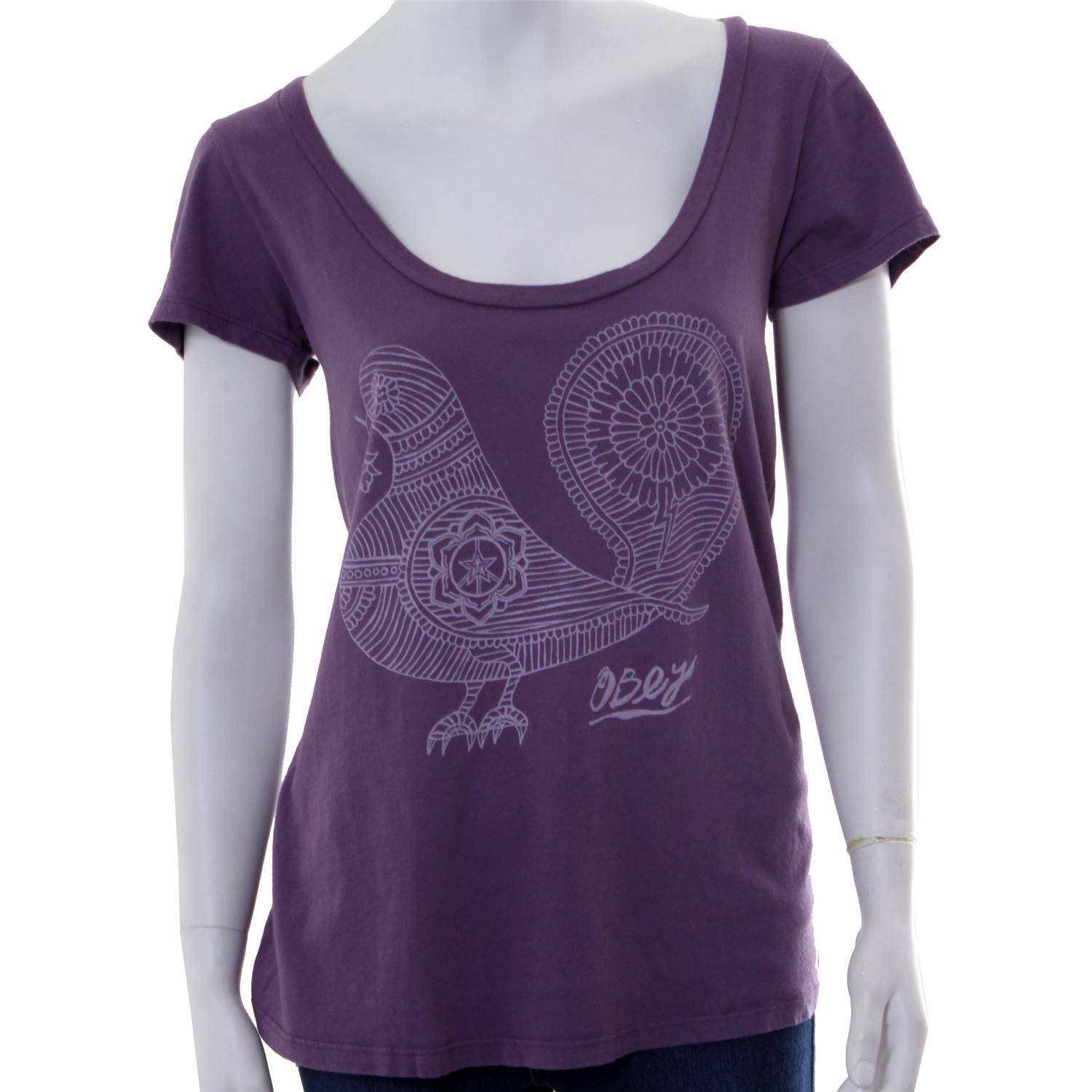 Obey Clothing Pigeon T Shirt - Women's