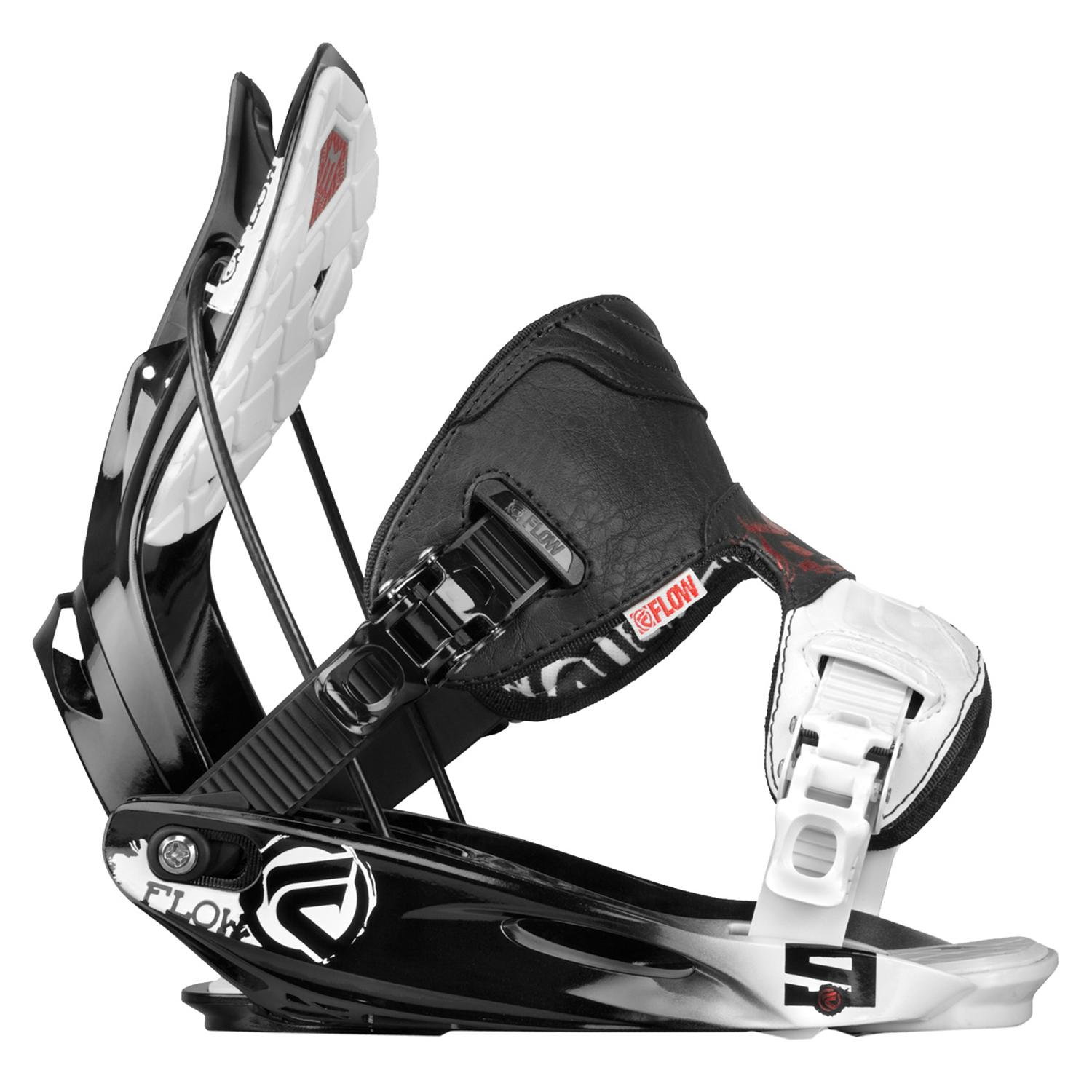 Flow Era Rocker Snowboard + Flow M9 Snowboard Bindings