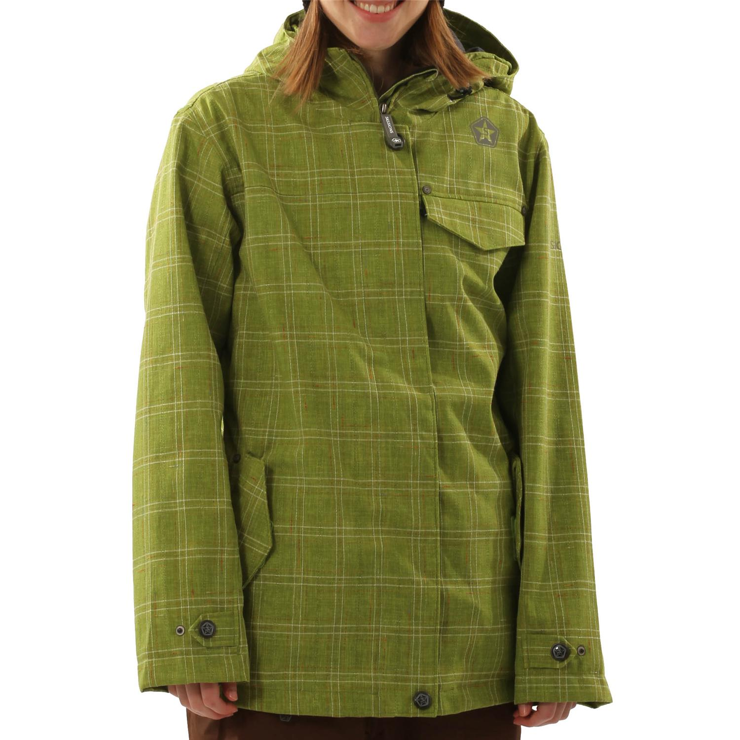 Plaid jacket for women