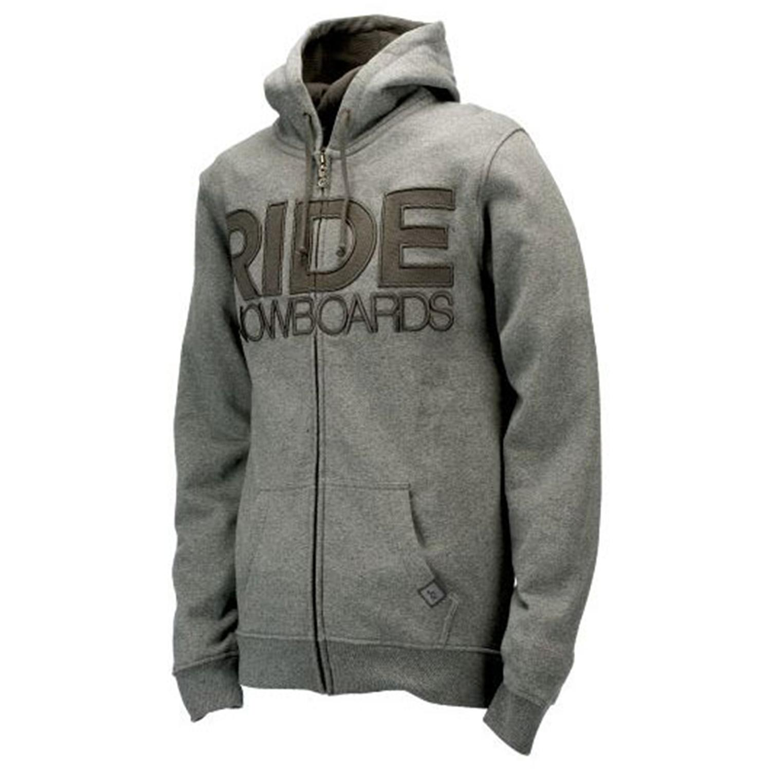 Ride Heathered Zip Hoodie | evo outlet