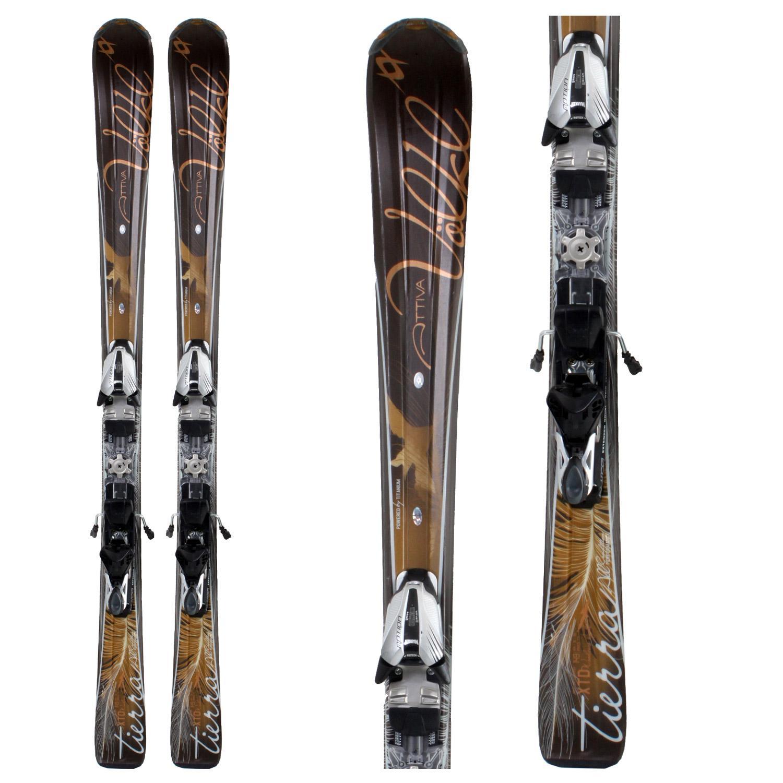 Volkl Attiva Tierra Skis + Bindings
