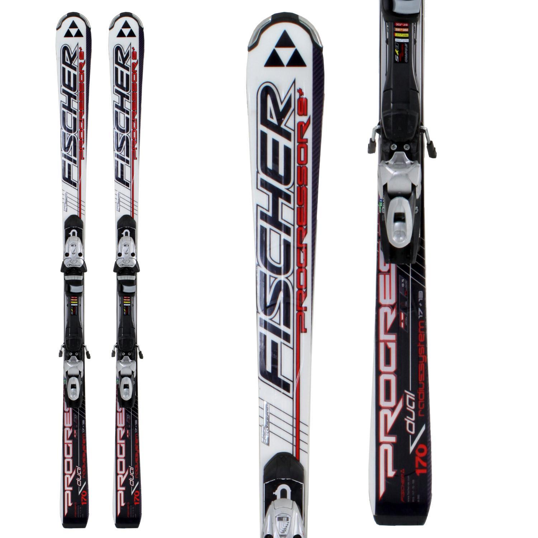 Fischer Progressor 9+ Skis + Bindings - Used 2009