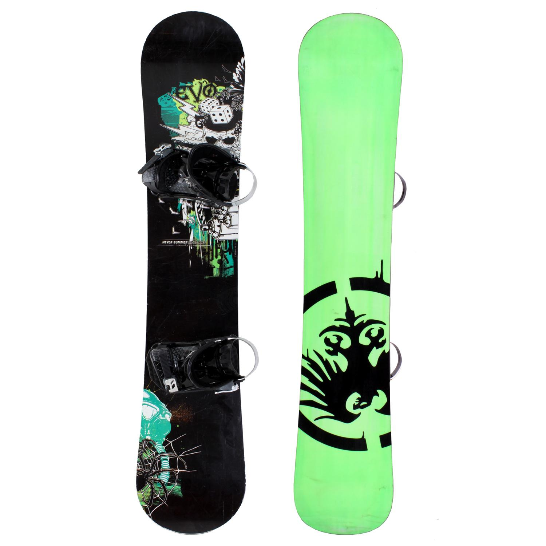 Never Summer Evo Snowboard + Bindings - Used 2008
