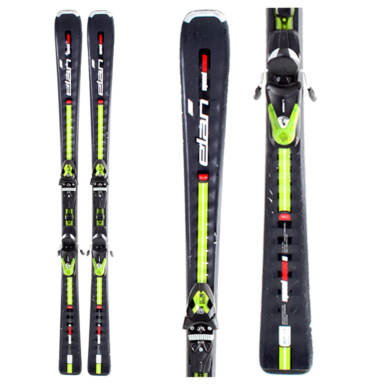 Elan Speedwave 8 Skis + Bindings - Used 2008