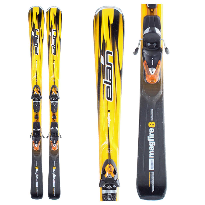 Elan Magfire 8 Skis + Bindings - Used 2008