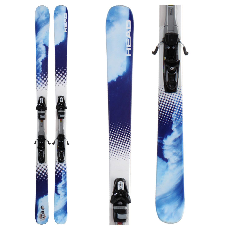 Head Mojo 90 Skis + Bindings - Used 2008
