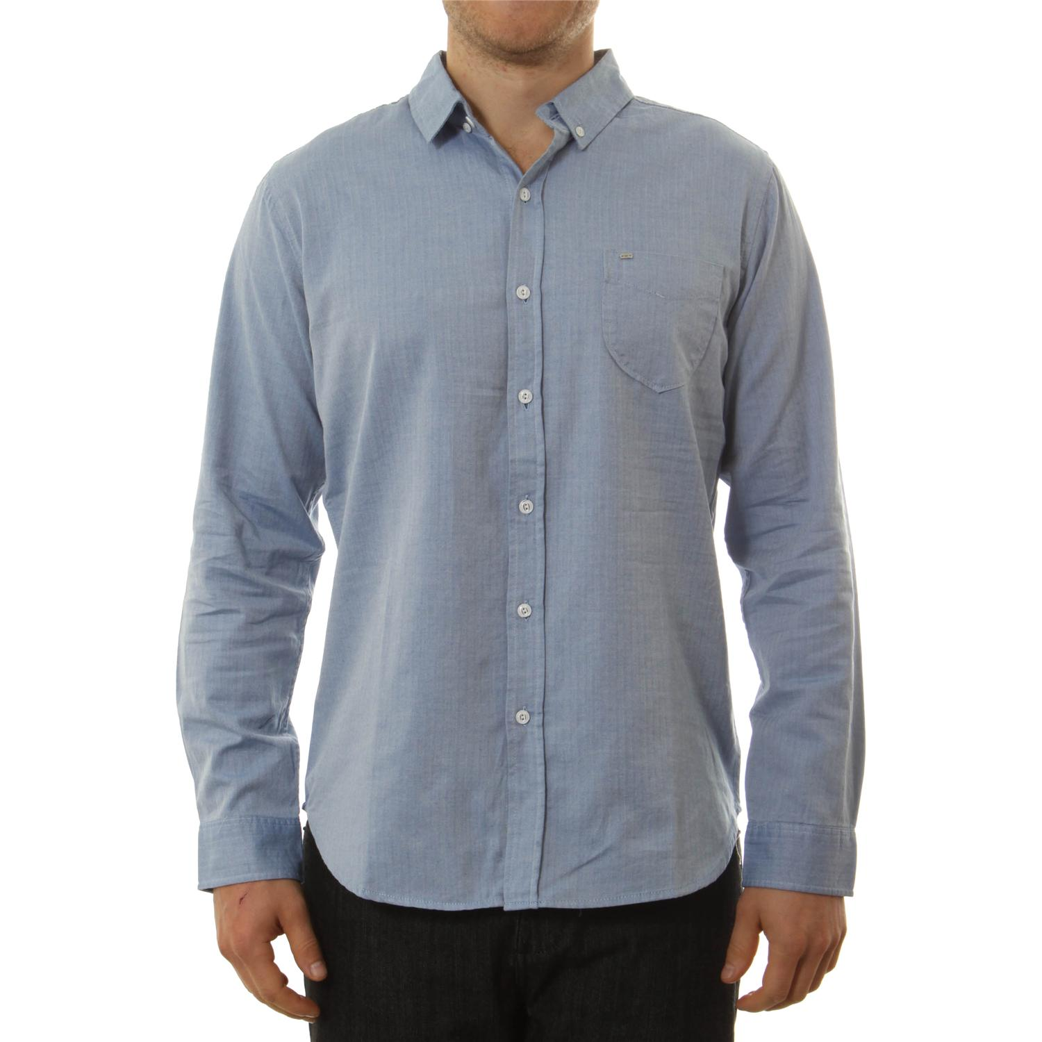Obey Clothing Staple Woven Button Down Shirt