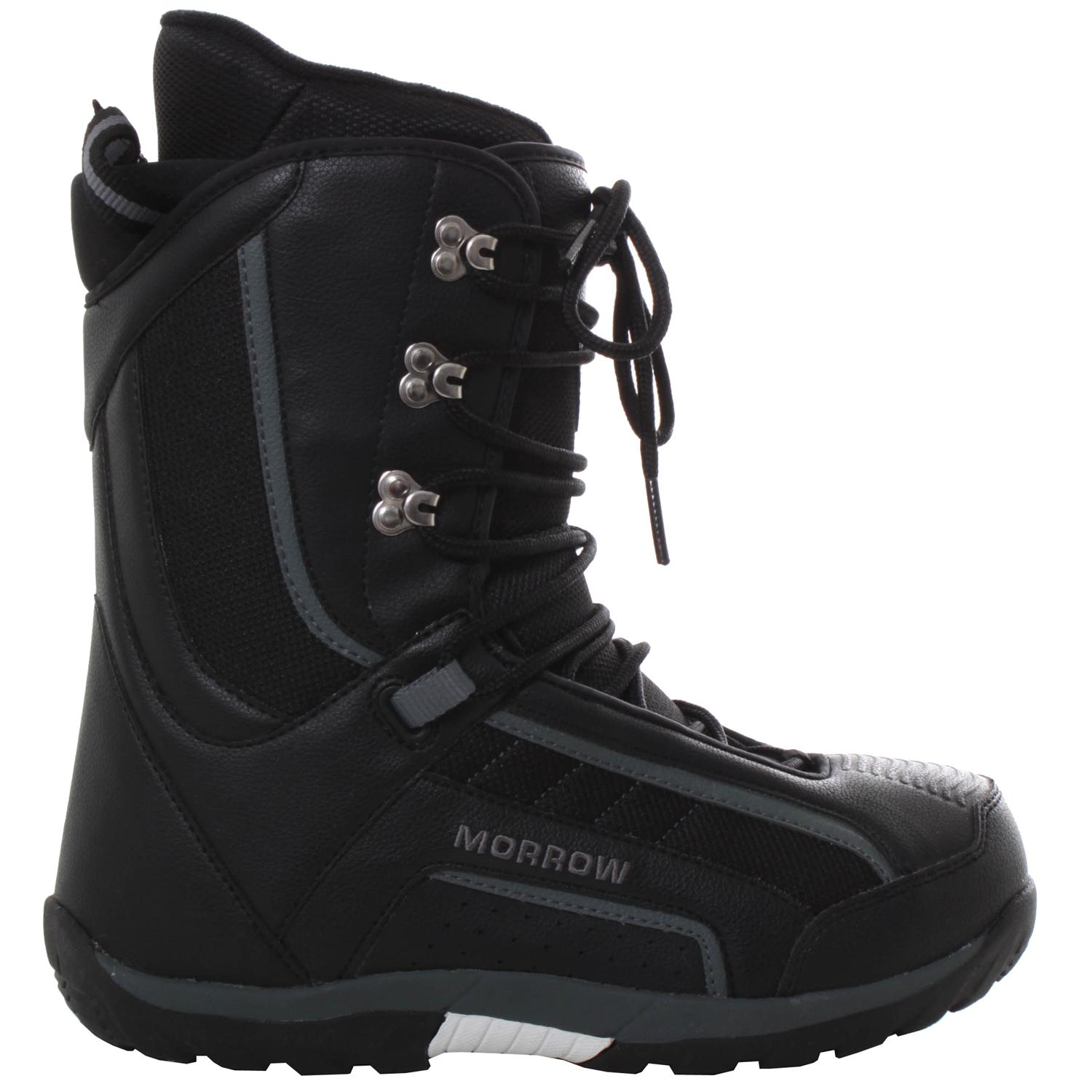 morrow rail snowboard boots demo 2008 evo outlet
