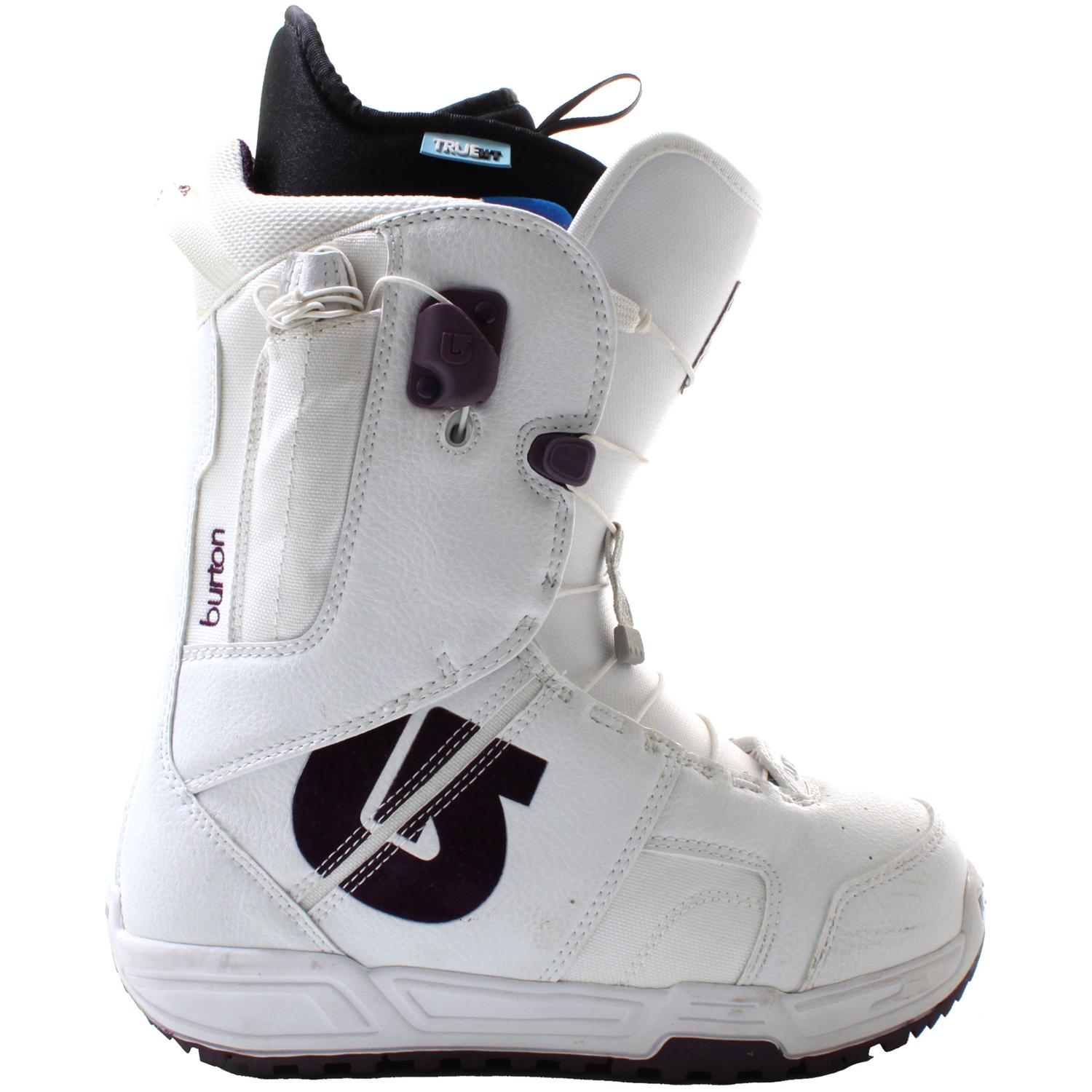 burton mint snowboard boots s demo 2007 evo outlet