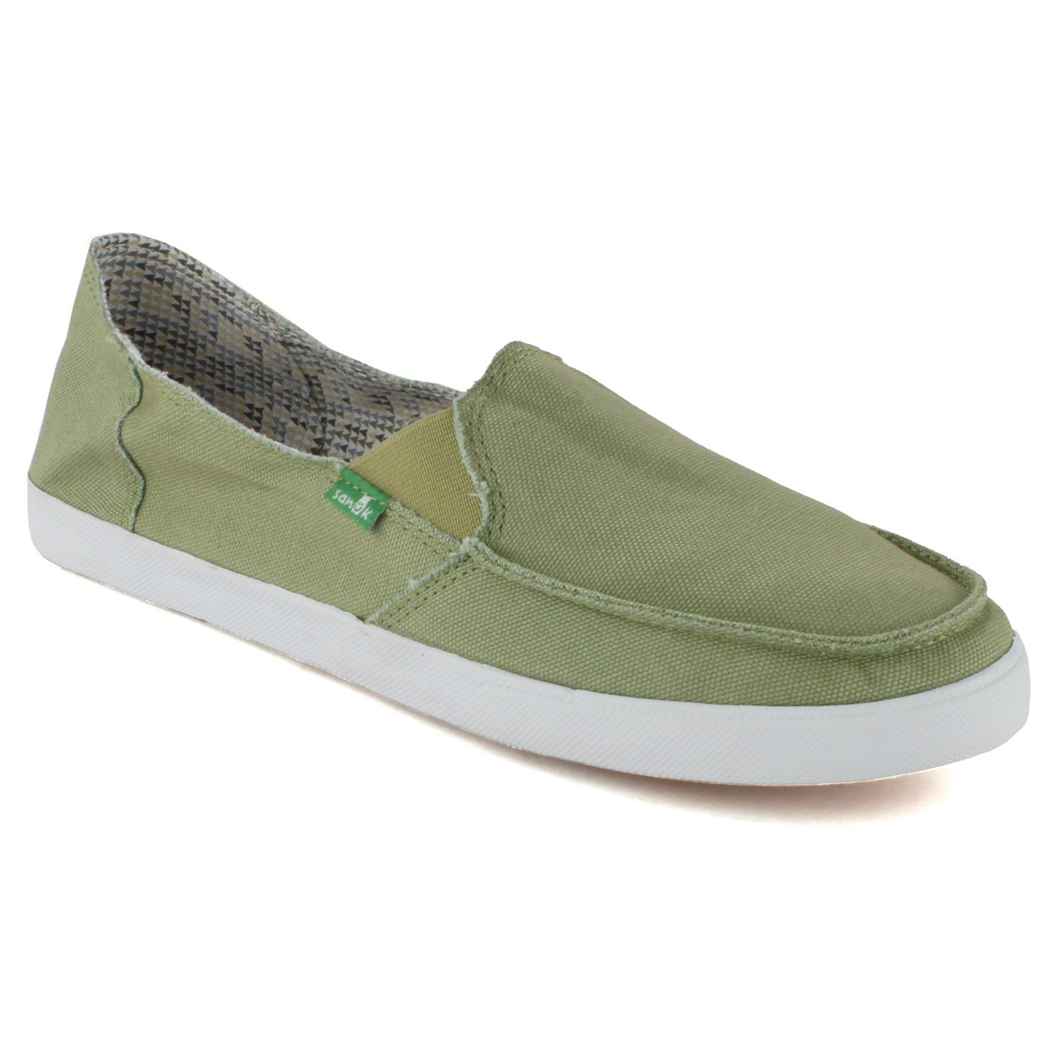 sanuk june bug slip on shoes s evo outlet