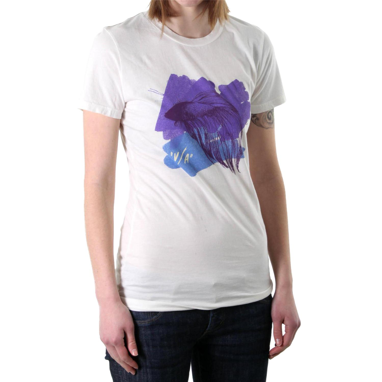 Rvca fishing t shirt women 39 s evo outlet for Womens fishing shirt