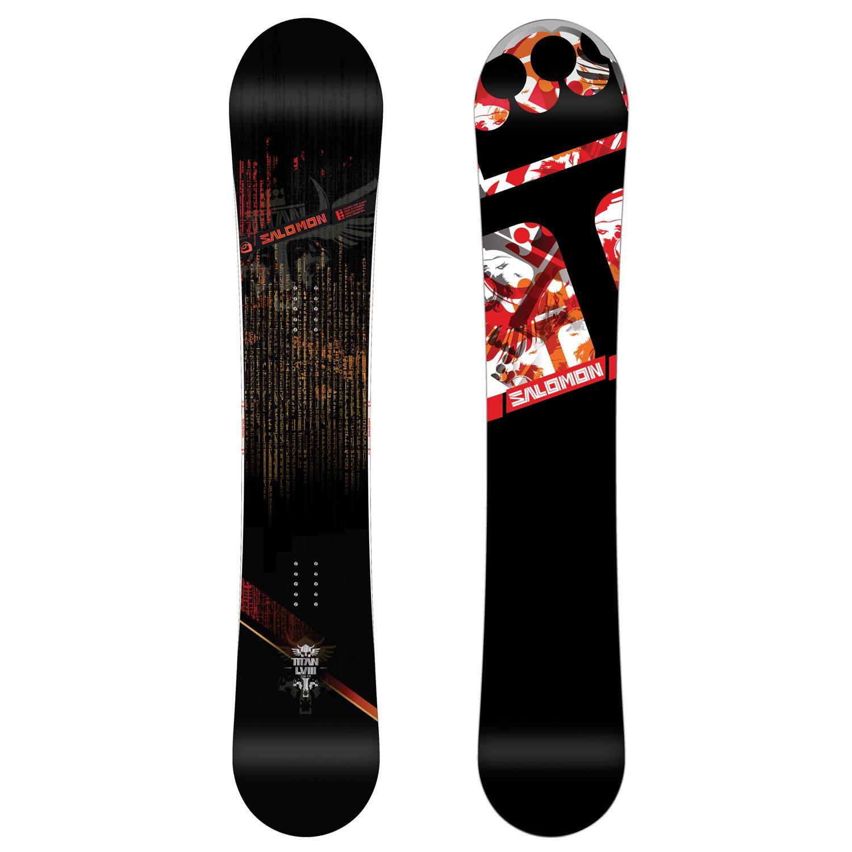 Salomon Titan Snowboard + Salomon Patriot Snowboard