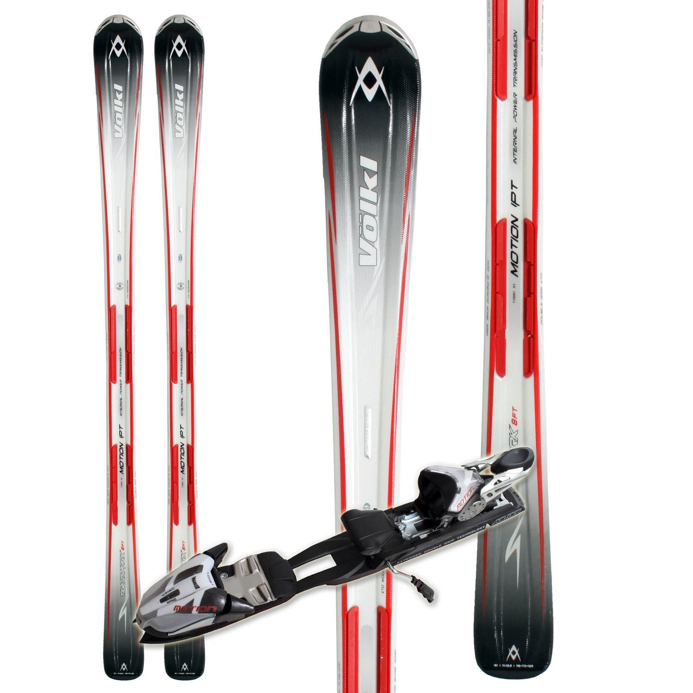 Volkl Tigershark 8 Foot Skis + IPT 11.0 TC Bindings 2011