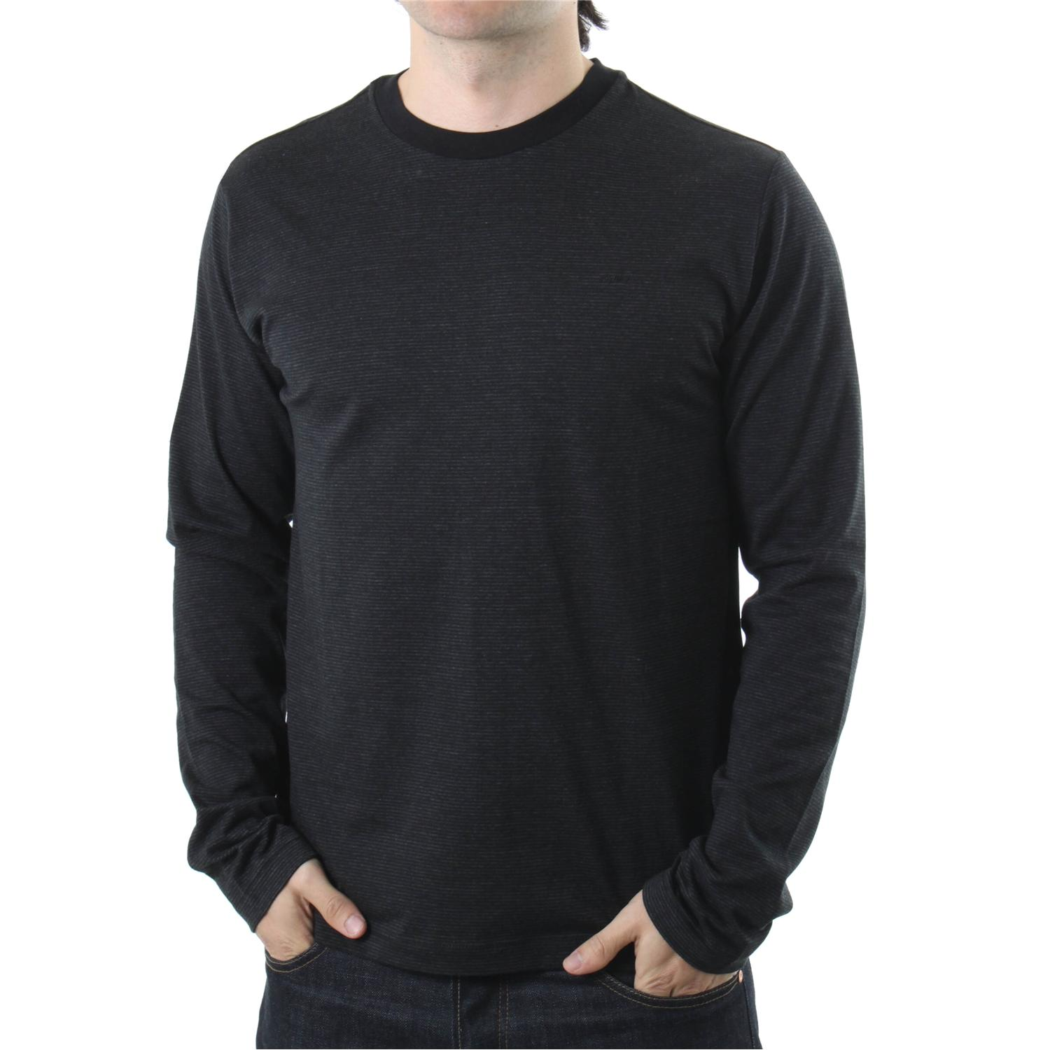 rvca nagasaki long sleeve crew neck shirt evo outlet