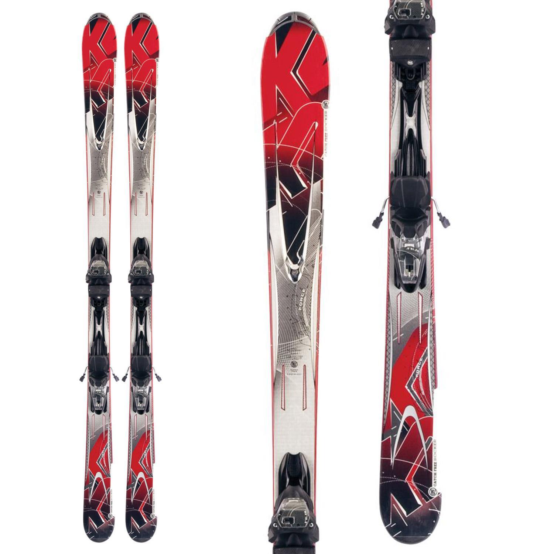 K2 A.M.P. Force Skis + Marker M3 10.0 Bindings 2012