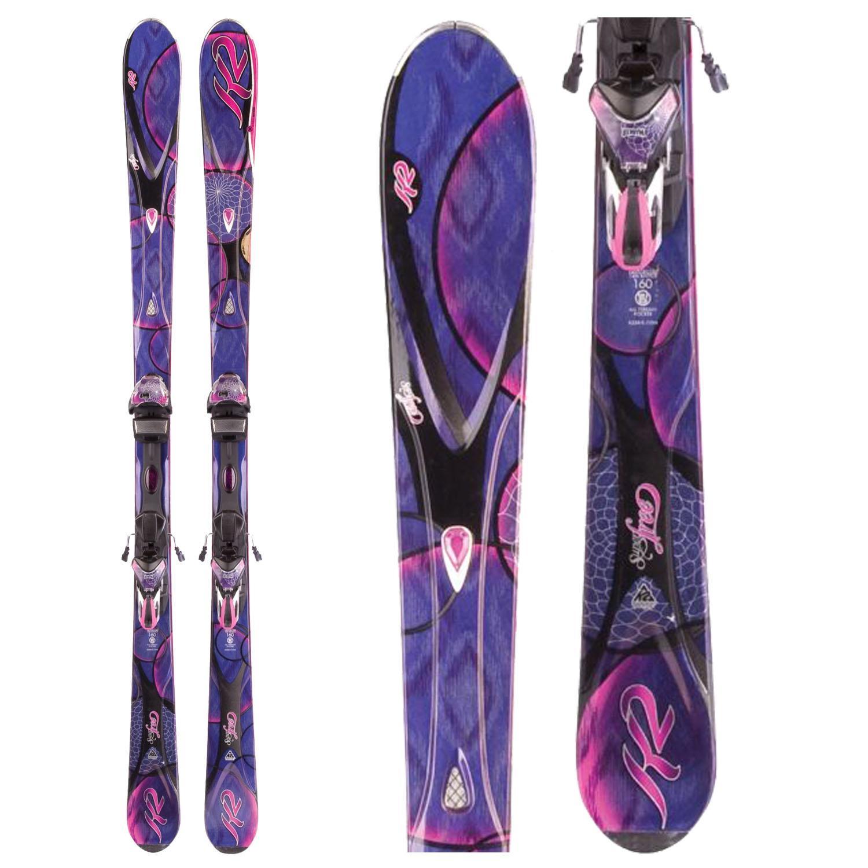 K2 SuperFree Skis + Marker ERS 11.0 TC Bindings