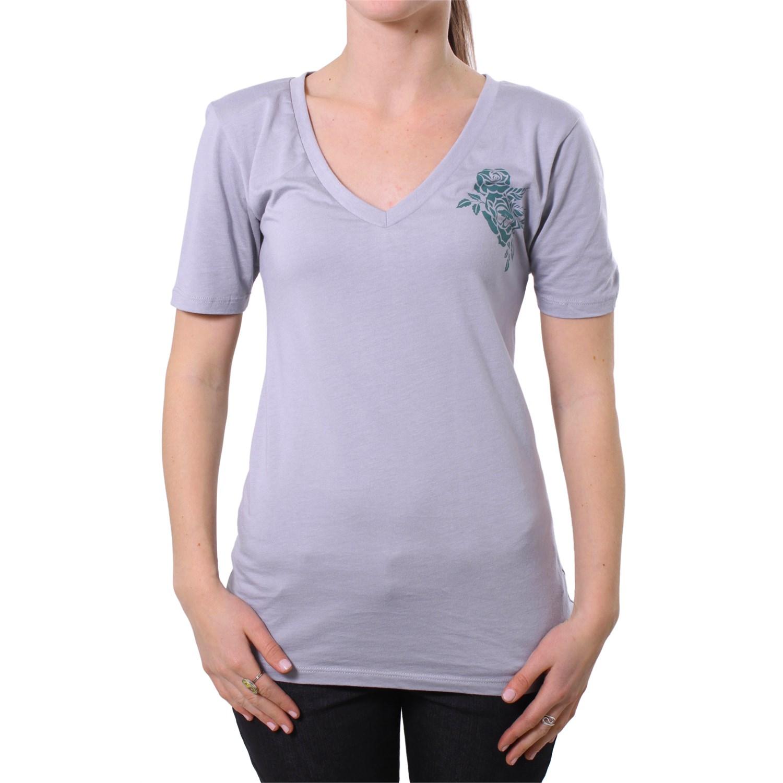 Arbor Cadence V Neck Bamboo T Shirt Womens Evo Outlet