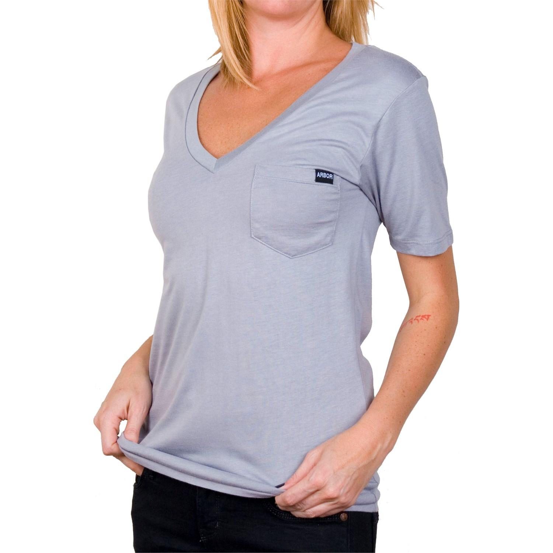 Arbor Hope V Neck Bamboo T Shirt Womens Evo Outlet