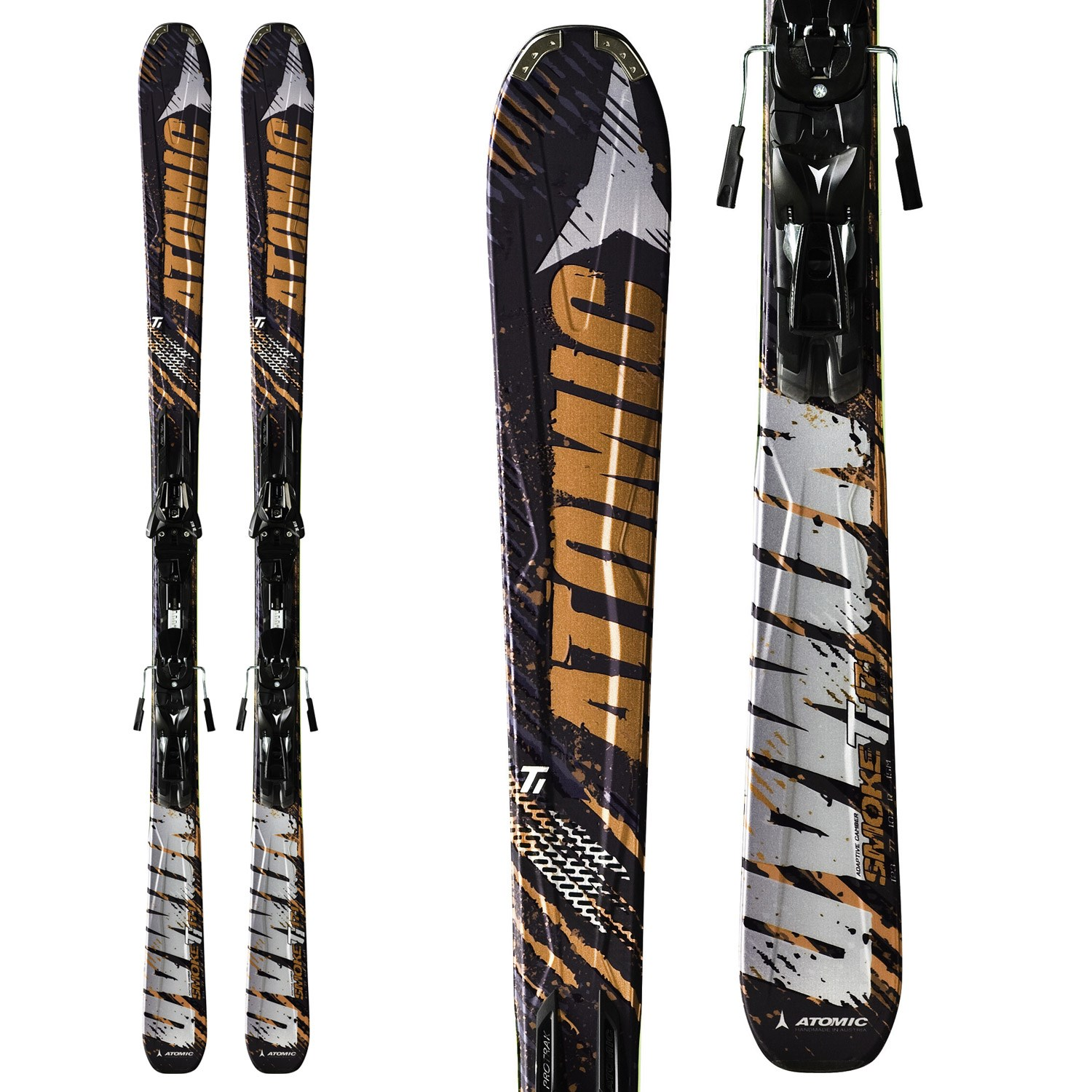 Atomic Smoke Ti Skis + XTO 12 Bindings 2012 | evo outlet