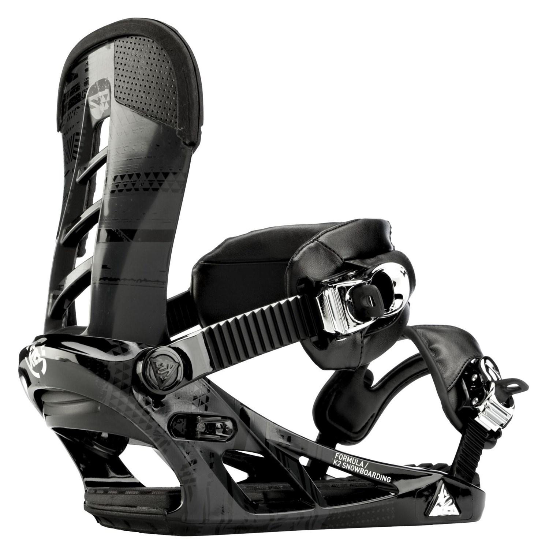 Ride Kink Snowboard + K2 Formula Snowboard Bindings 2012