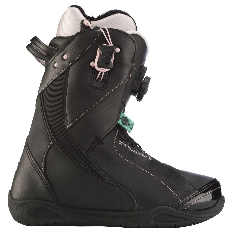 k2 sapera boa snowboard boots s 2012 evo outlet