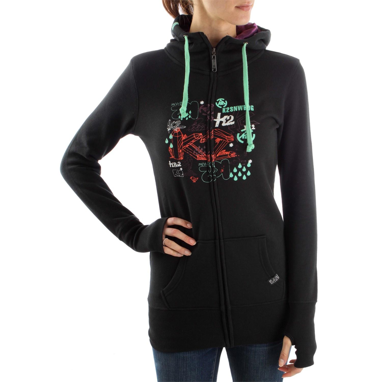K2 Sleeper Reversible Full Zip Hoodie | evo outlet