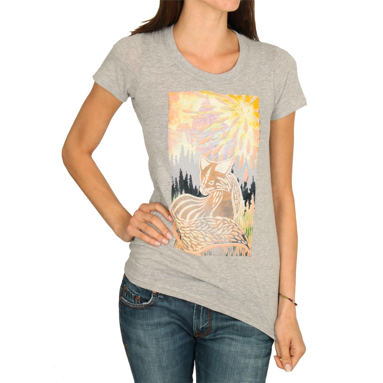 element cut out fox t shirt women 39 s evo outlet