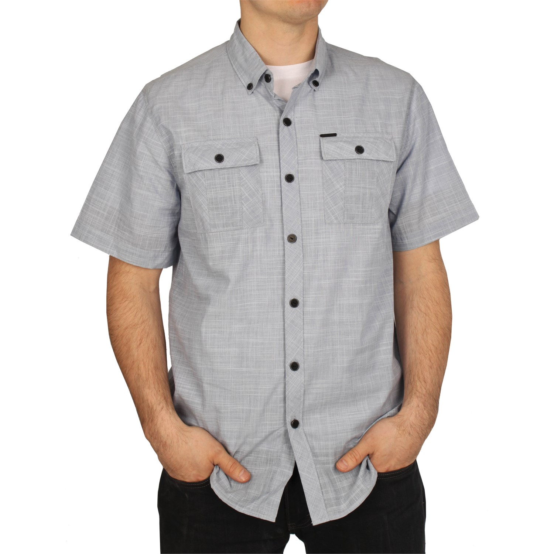Element Farallon Button Short Sleeve Button Down Shirt
