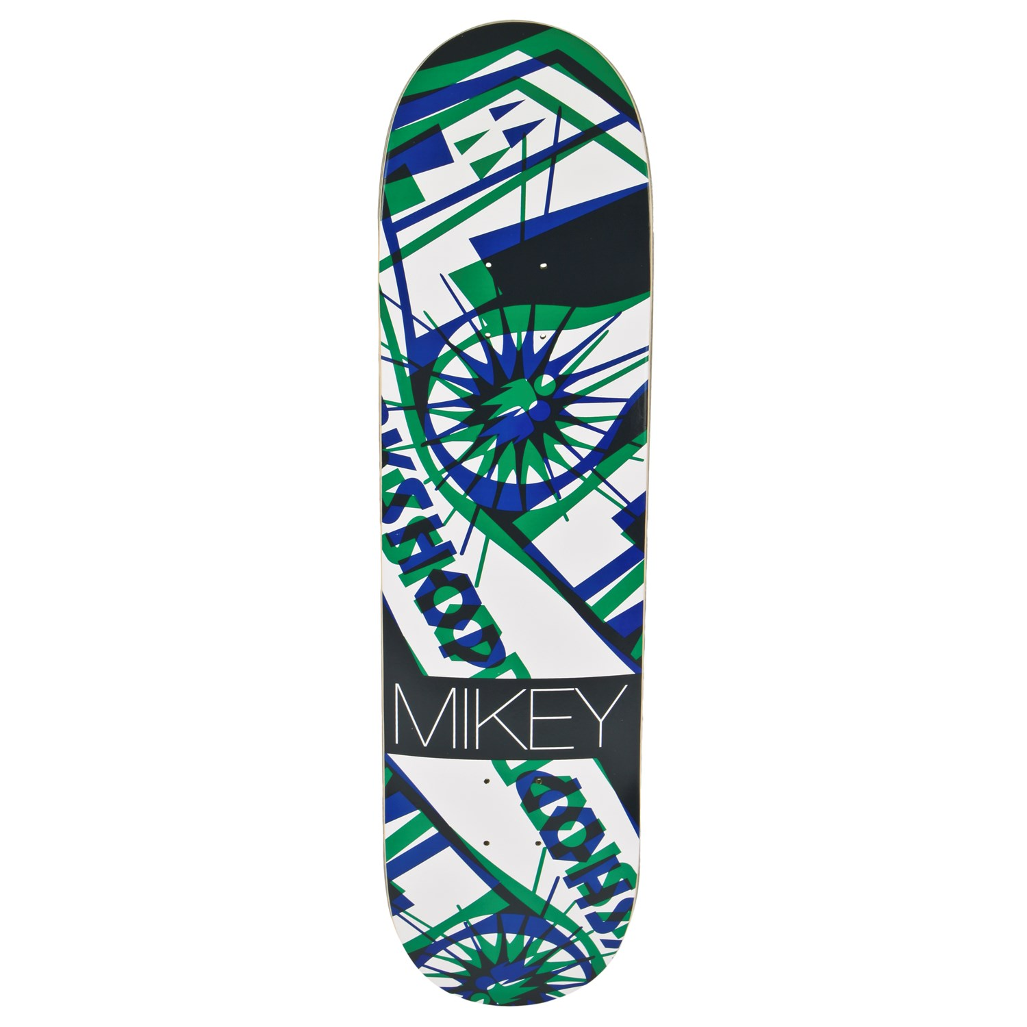 Alien Workshop Mikey Taylor Anaglyph Hexmark Skateboard ...