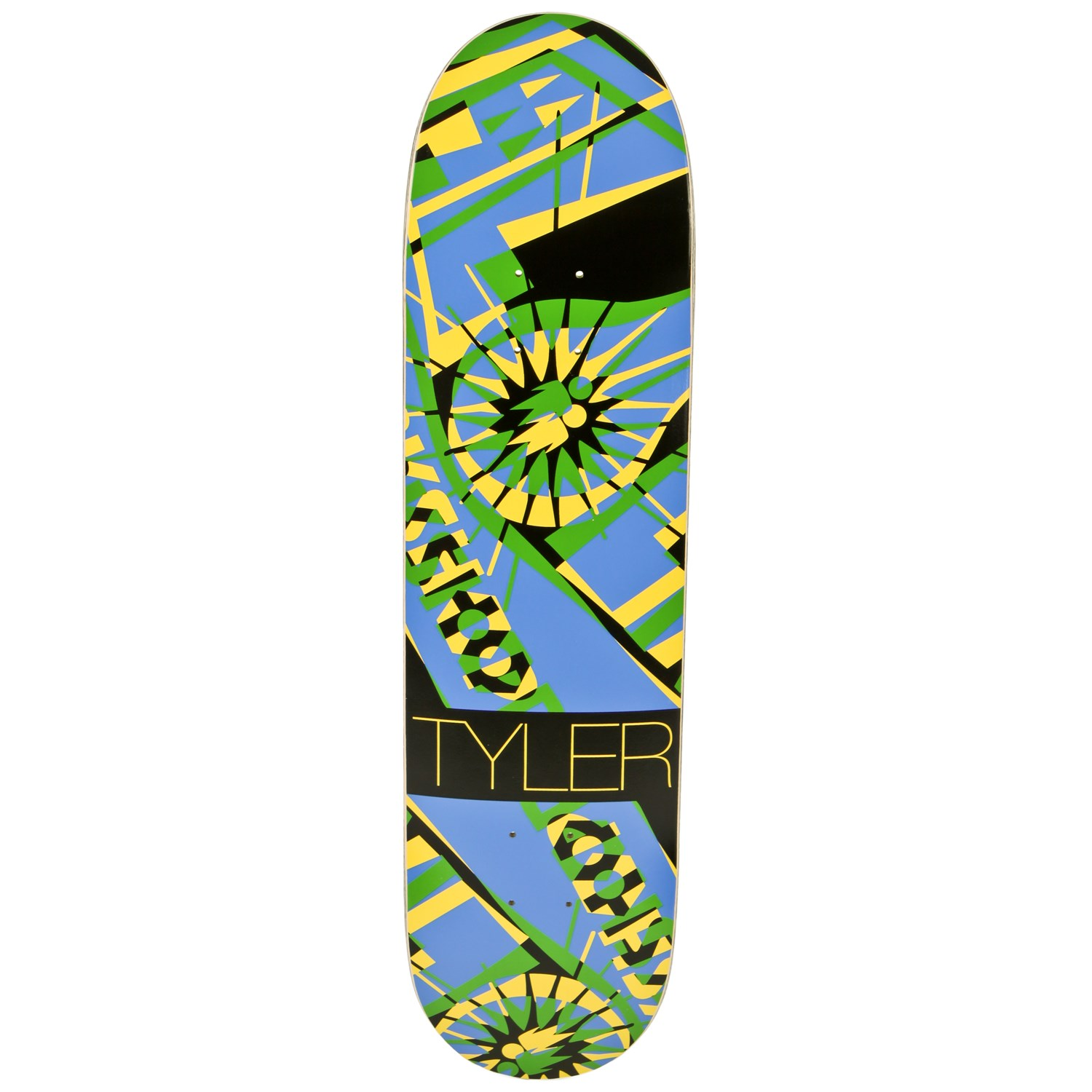 Alien Workshop Tyler Bledsoe Anaglyph Hexmark Skateboard ...
