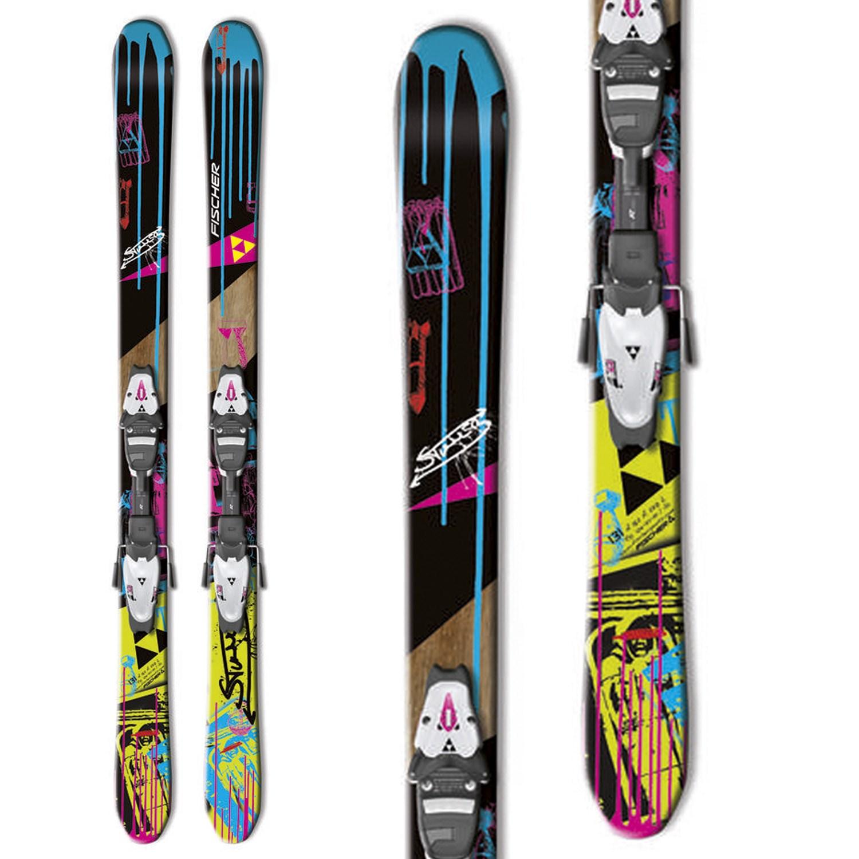 Fischer Stunner Skis + FJ4 RF Bindings - Youth 2012