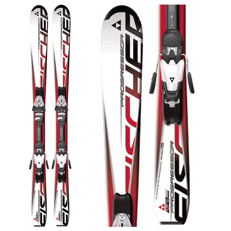 Fischer Progressor Jr Skis + FJ7 Jr RF Bindings