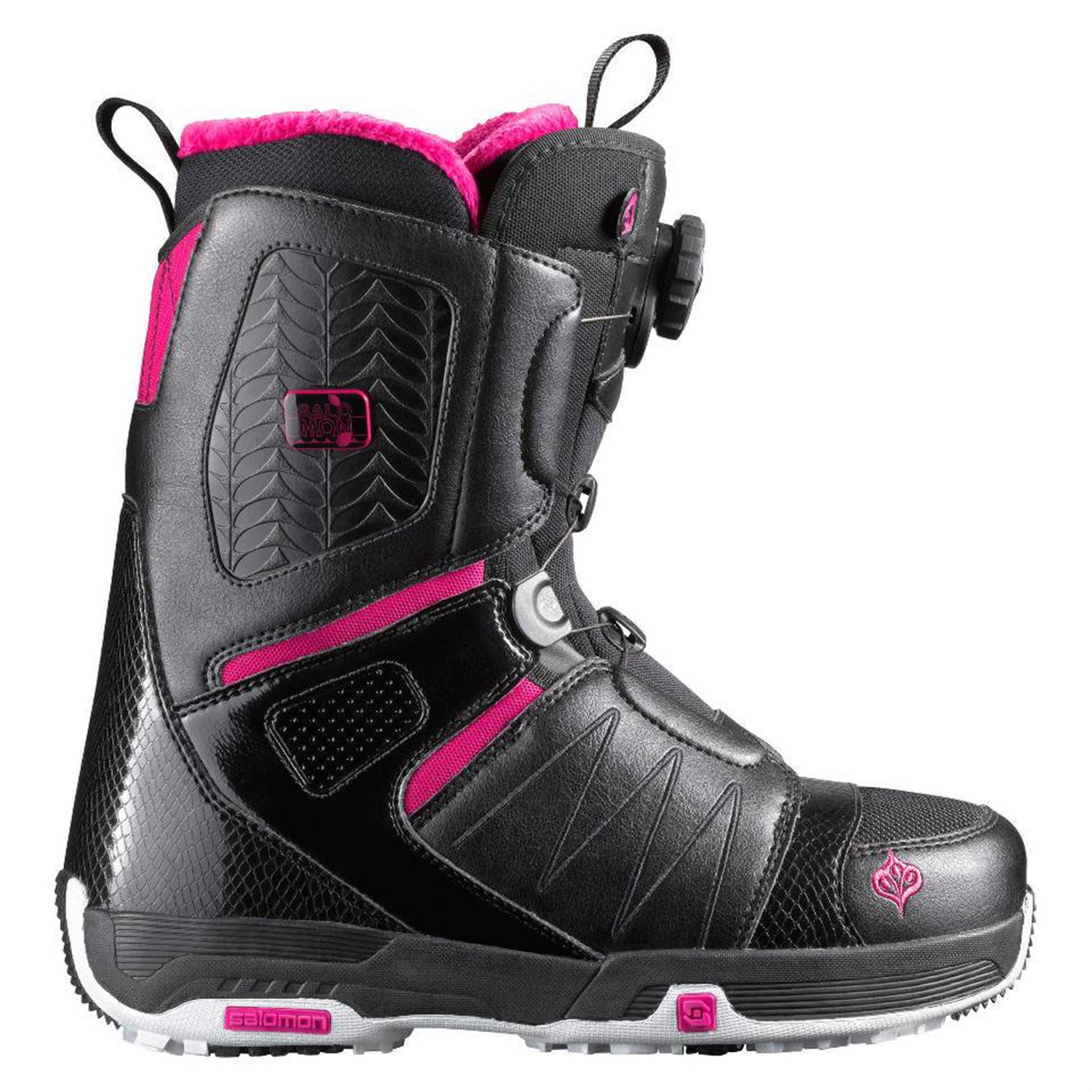 salomon pearl boa snowboard boots women 39 s 2012 evo outlet. Black Bedroom Furniture Sets. Home Design Ideas