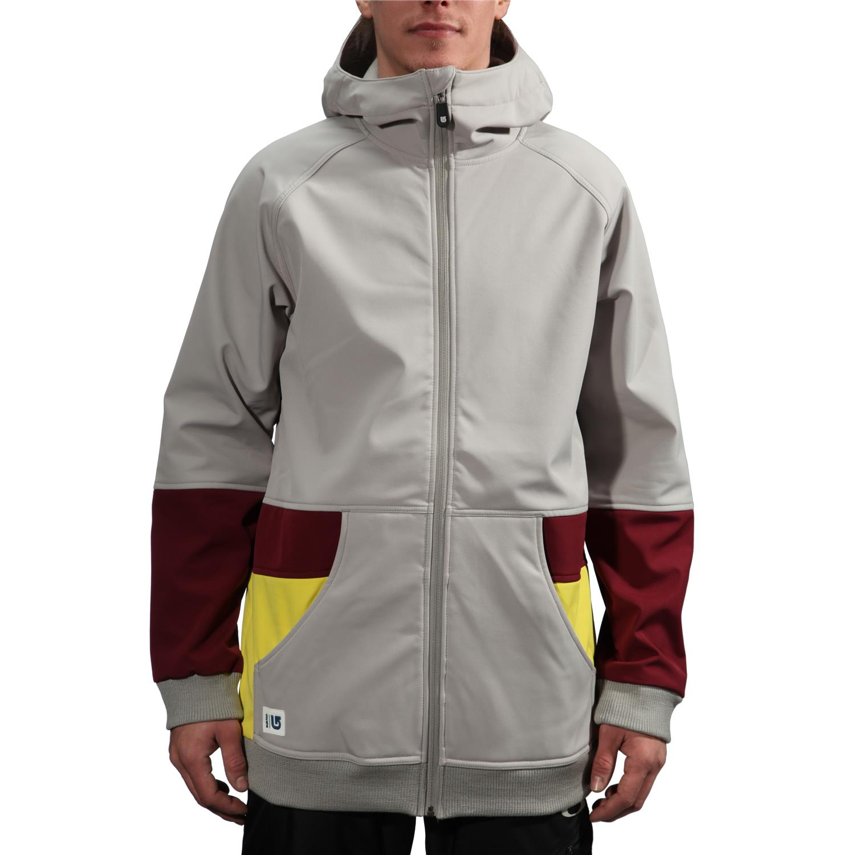 Burton softshell hoodie
