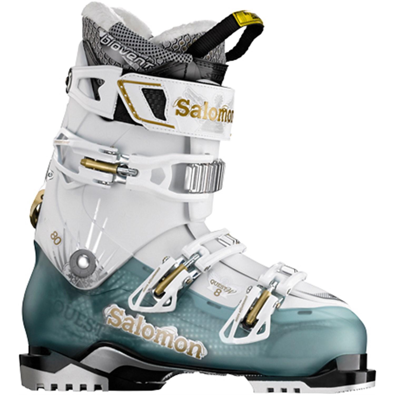 salomon quest 8 ski boots s 2012 evo outlet