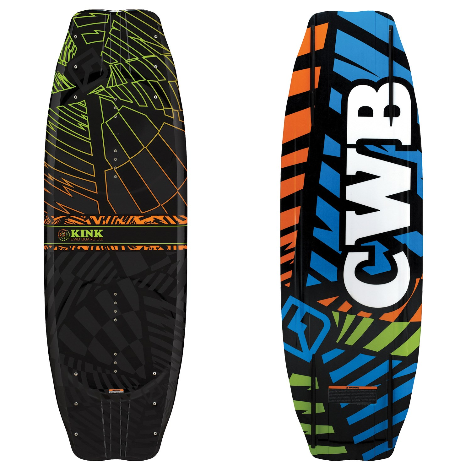 Cwb Kink Wakeboard Vapor Bindings 2011 Evo Outlet