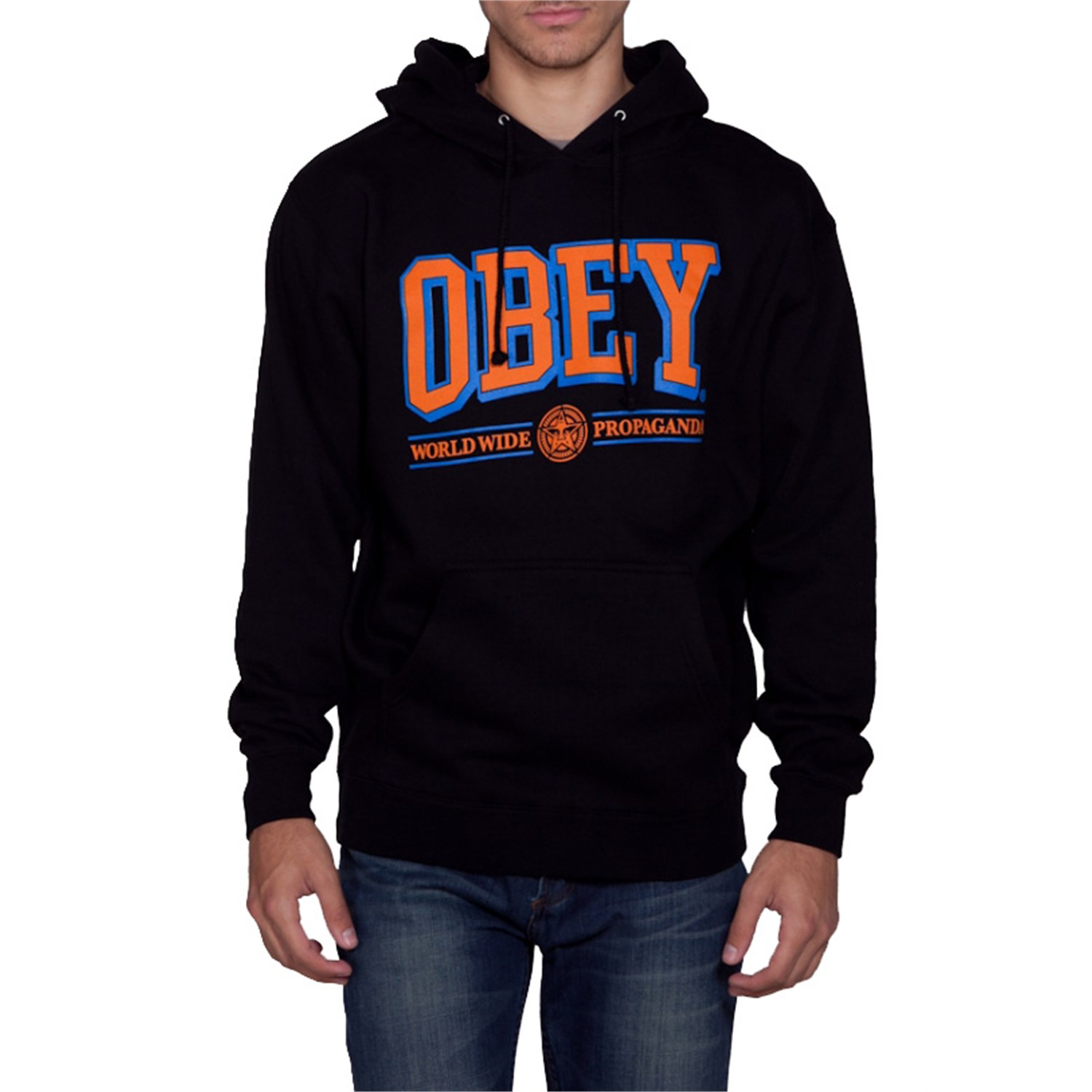 Obey Clothing Athletics Pullover Hoodie | evo