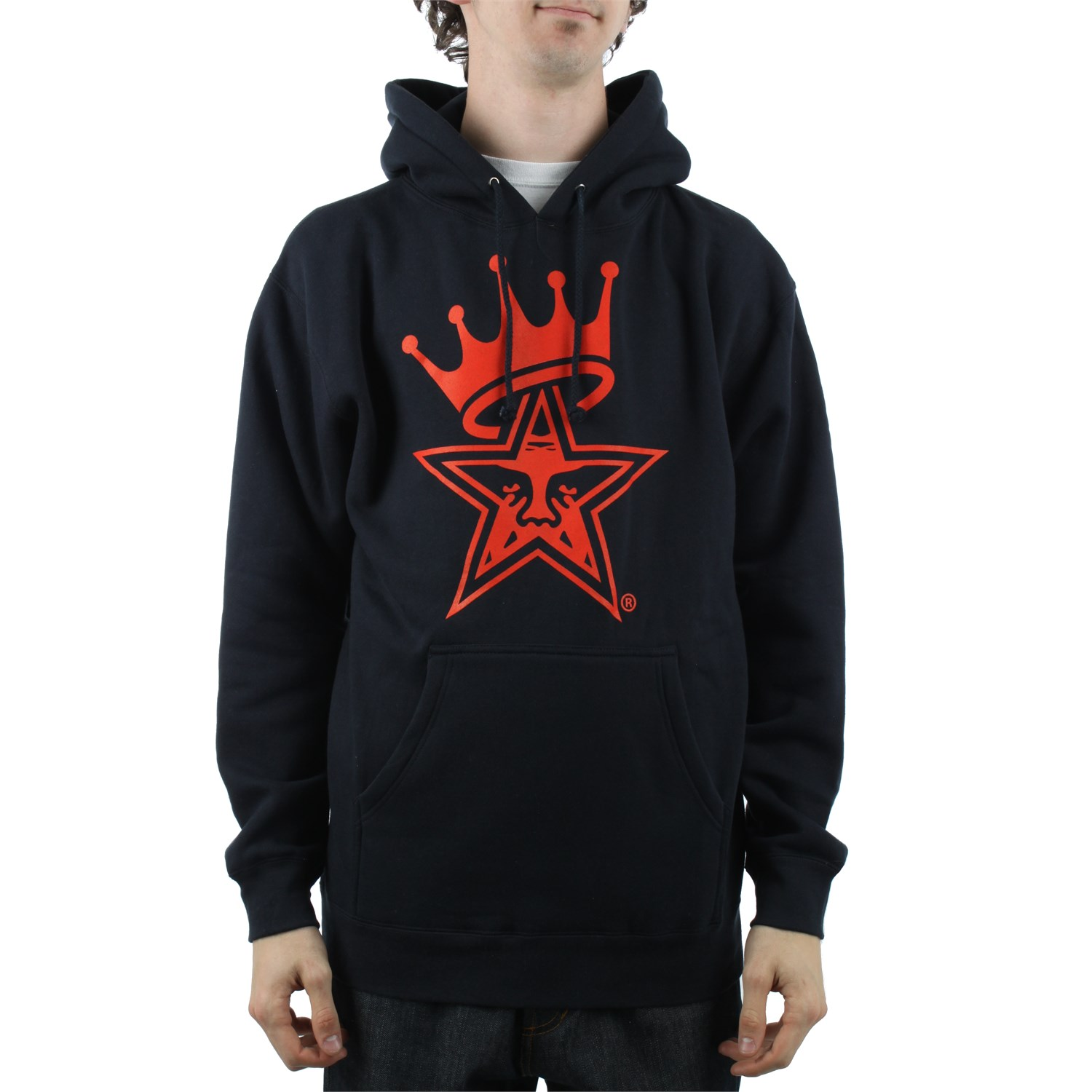 Obey Clothing Star Crown Pullover Hoodie